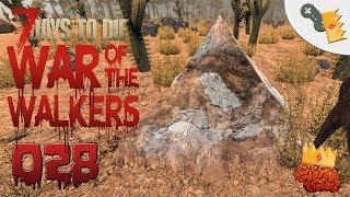 """SILBER IN DER WÜSTE """"7 Days To Die"""" War of the Walkers [Alpha 16.4] - 028 -   [Let´s Play][Deutsch]"""