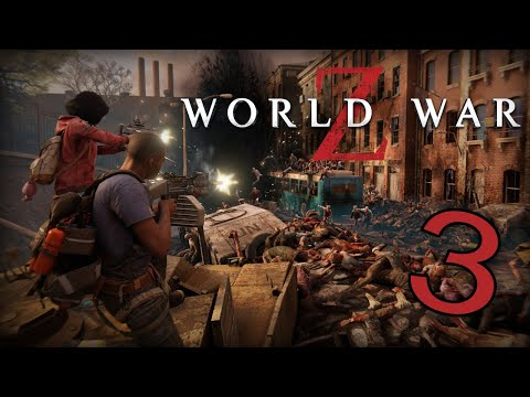 World War Z - Part 3 (New York Episode 1) A Very Glitchy And Lag Gameplay