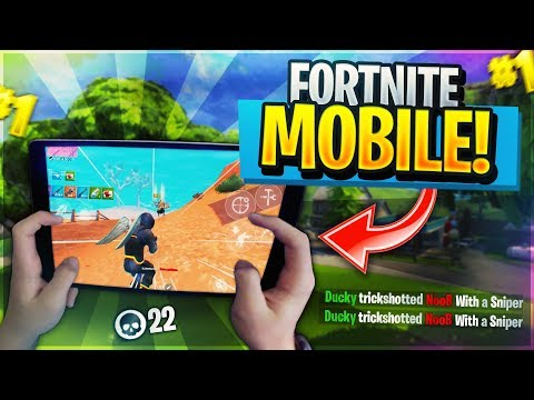 Pro Fortnite Mobile Player// 700+ Wins // Grinding ...