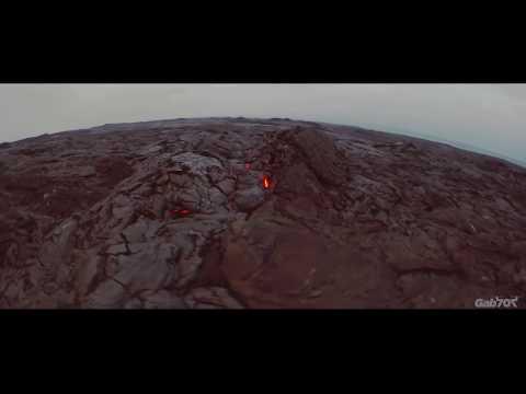 Pele's daemon - Active lava field FPV flight