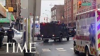 Officers Shot In Jersey City Amid Heavy, Prolonged Gunfire | TIME