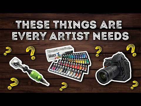These Things Are Every Artist Needs! | Drawing and Painting Tutorials in Hindi