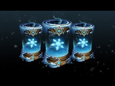League of Legends Snowdown 2017: 5 Snow Down Capsule, for a chance of 1-3 gemstones each capsule