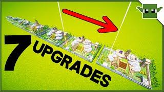 Minecraft Survival Base | 7 Upgrades Series