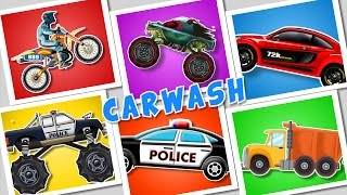 Car Wash Compilation | 60 mins Plus Compilation For Kids, Children, Toddlers And Babies