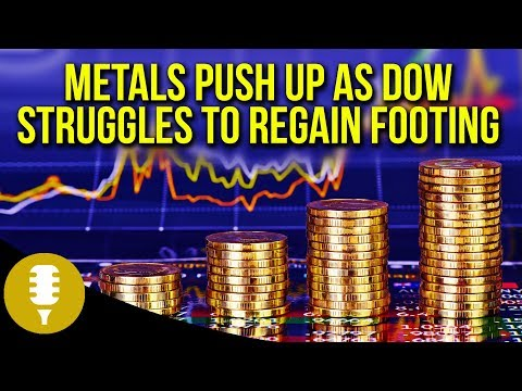 Gold Sees Aggressive Momentum Up As DOW Struggles To Regain Footing