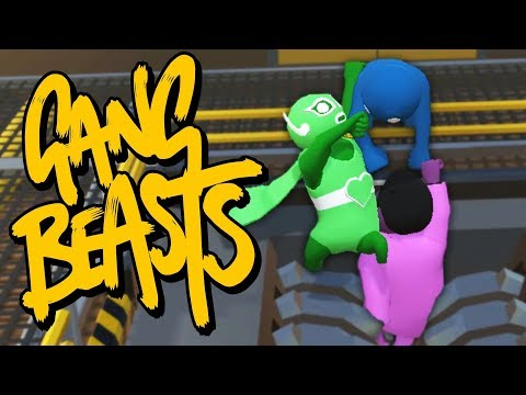 HANGING ON FOR DEAR LIFE!! | Gang Beasts | Little Kelly