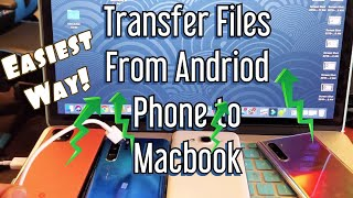 All Android Phones: How to Transfer Photos/Videos to Macbook (Apple Computer)