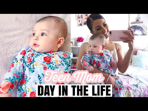 2019♡ Teen Mom Day In The Life! Mommy Of 4!!