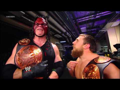 Kane & Daniel Bryan decide to take on Cody Rhodes & Damien Sandow: SmackDown, Sept. 21, 2012