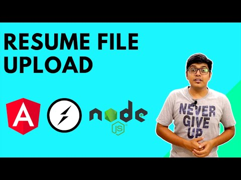 Resume incomplete file upload using Socket, Angular and Node.js thumbnail