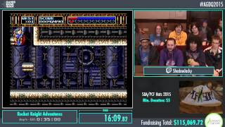 Awesome Games Done Quick 2015 - Part 14 - Rocket Knight Adventures by ShadowJacky