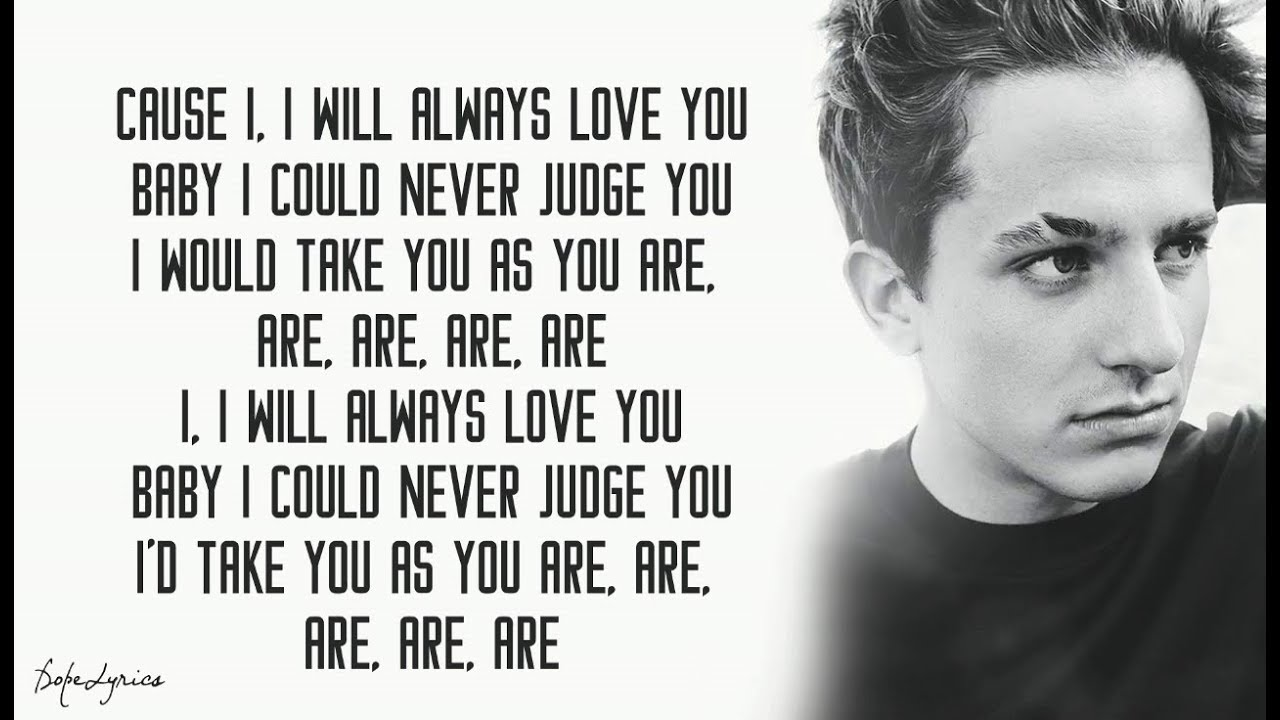 Download Charlie Puth - As You Are (Lyrics) feat. Shy Carter