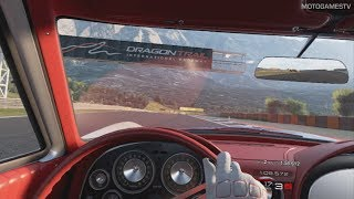Gran Turismo Sport VR - Chevrolet Corvette Sting Ray Sport Coupe (C2) '63 Gameplay