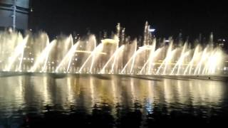 Dubai Fountain I will always love you