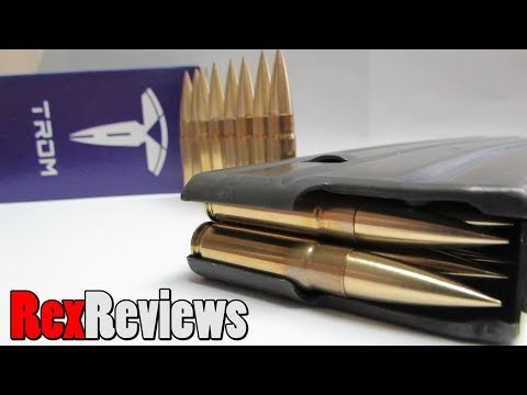 Modern Projectiles for .300 BLK and .375 TROM ~ Rex Reviews