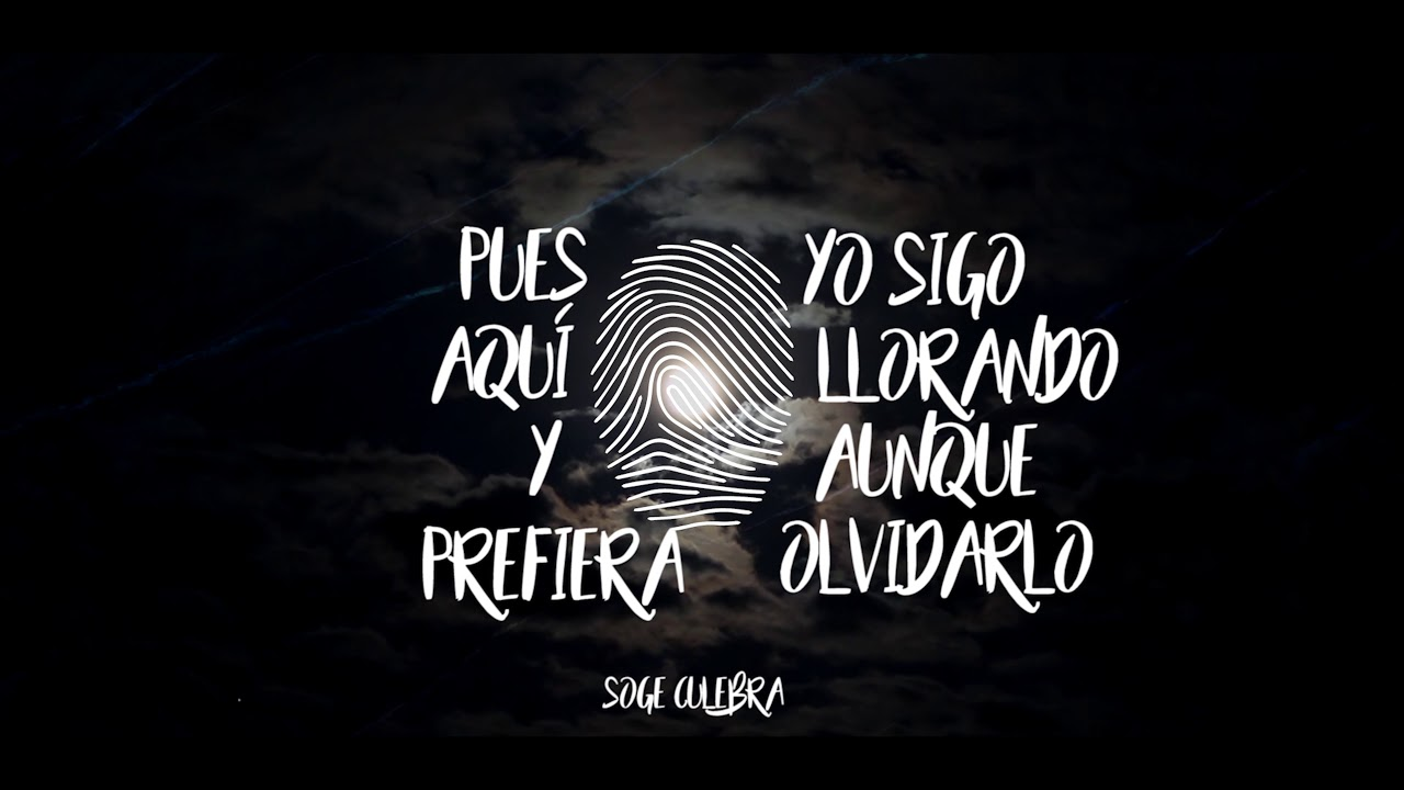 Soge Culebra Inquietudes Lyric Video
