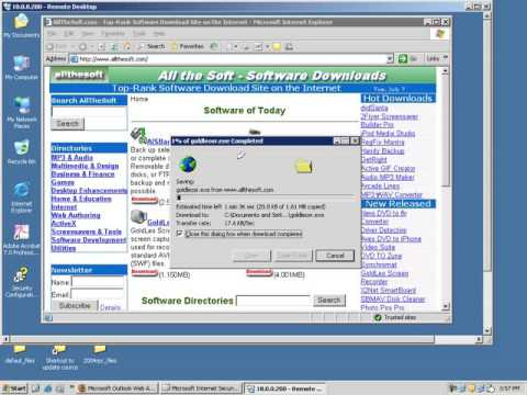 ISAServer16# Limit Speed For User Download And Upload