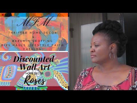 Discount Wall Art | Roses | Home Decor | MFM