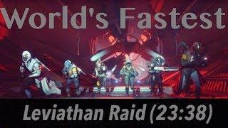 World's Fastest Leviathan Raid Speedrun (23:38)