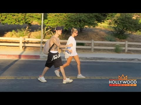 A Shirtless Justin Bieber Hikes to the &39;Wisdom Tree&39; with Wife Hailey Baldwin