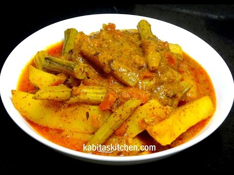Super Tasty Drumstick Curry-Drumstick in Mustard Gravy-Drumstick Potato Curry-Drumstick Masala