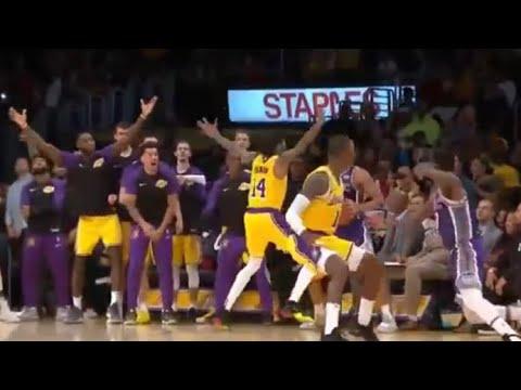 Lakers GO CRAZY Brandon Ingram Inbound Play, SLENDERMAN DEFENSE!
