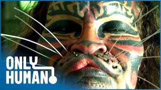 Animal Imitators (Extreme Body Modification Documentary)   Only Human