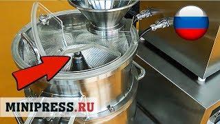 ????Сухое гранулирование в фармацевтической промышленности. Видео обзор гранулятора Minipress.ru