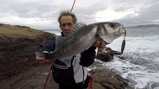 Robaliza pescada por Manuel Chacón MXKAÑA con IMÁN 40gr