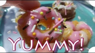 Baixar ASMR Spanish | Japanese Mini Donuts | Making DIY Kit Popin Cookin Donuts Kracie | Whispers
