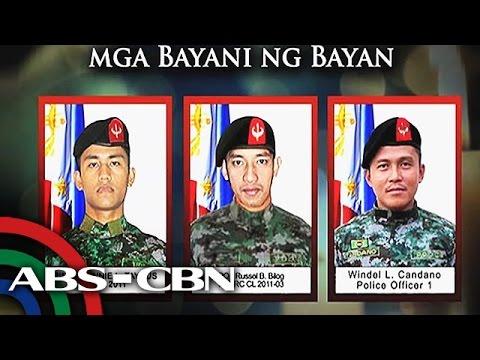 Isang pagsaludo sa napaslang na SAF members