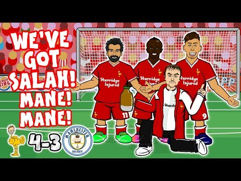 🎤SALAH, MANE MANE! DO DO DO DO DO DO!🎤 (Song Liverpool vs Man City 4-3 Goals Highlights Parody)