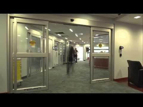 Stanley Access Technologies Slide Door Time Lapse Youtube