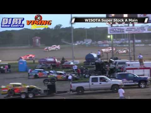 Viking Speedway 7 5 14 WISSOTA Super Stock Races