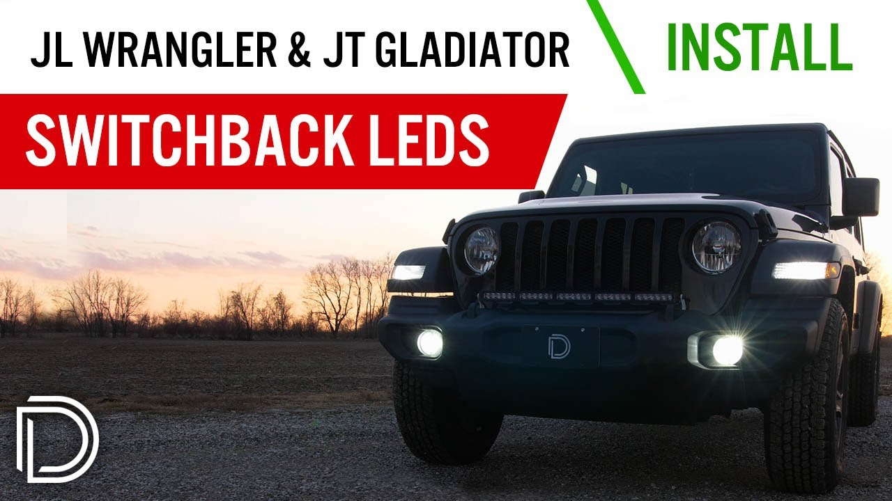 How To Install 2018 Jeep Jl Wrangler Switchback Turn Signal Leds Tj Wiring Diagram For Led Blinkers Diode Dynamics