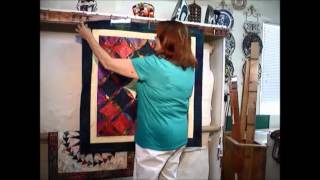 Quilt Display Rack By Retractable Design Wall