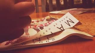 ASMR | Paper creasing, paper sounds, & gum chewing