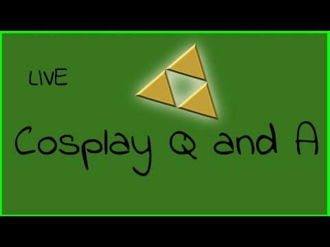 Live Cosplay Q and A