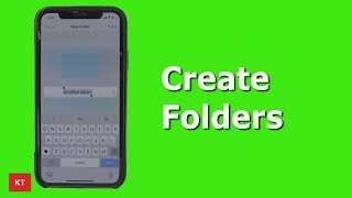 How to create folders in iPhone | Add folders to iPhone