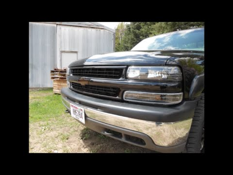 2000 Silverado 1500 Z71 Color Matching The Grill And Black
