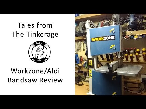 TFTT057 Aldi / Workzone Bandsaw Review