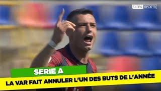 Serie A  : La VAR fait annuler l'un des buts de l'année
