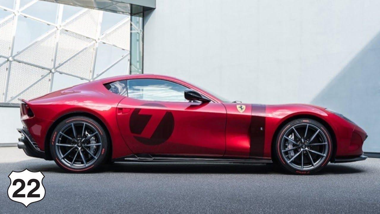 2021 All New Ferrari Omologata First Look Exterior Interior Youtube