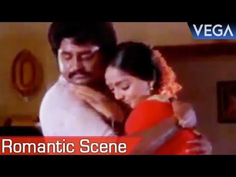 Rajinikanth Tightly Hugs Radha || Enkeyo Ketta Kural Movie || Romantic Scene thumbnail