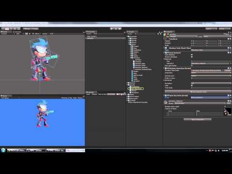 Spine Unity Animation Mixing