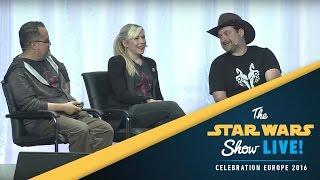Ahsoka's Untold Tales Panel | Star Wars Celebration Europe 2016