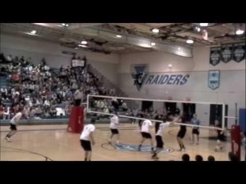 09 NA Varsity Boys VBall at SV Game 3