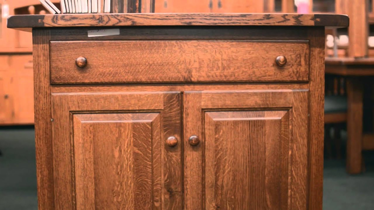 barn furniture   amish kitchen islands   youtube  rh   youtube com