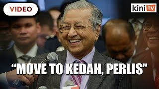 We will all move to Kedah, no haze there, jokes Dr Mahathir
